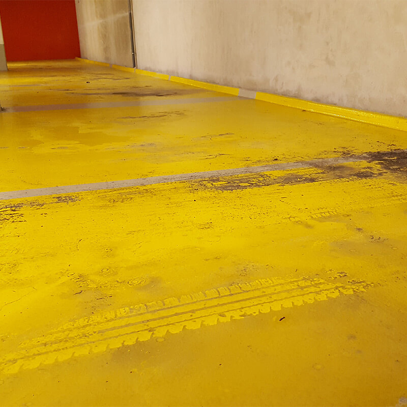 Sol de parking Epoxy sale